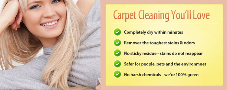 Carpet Cleaner White Patch